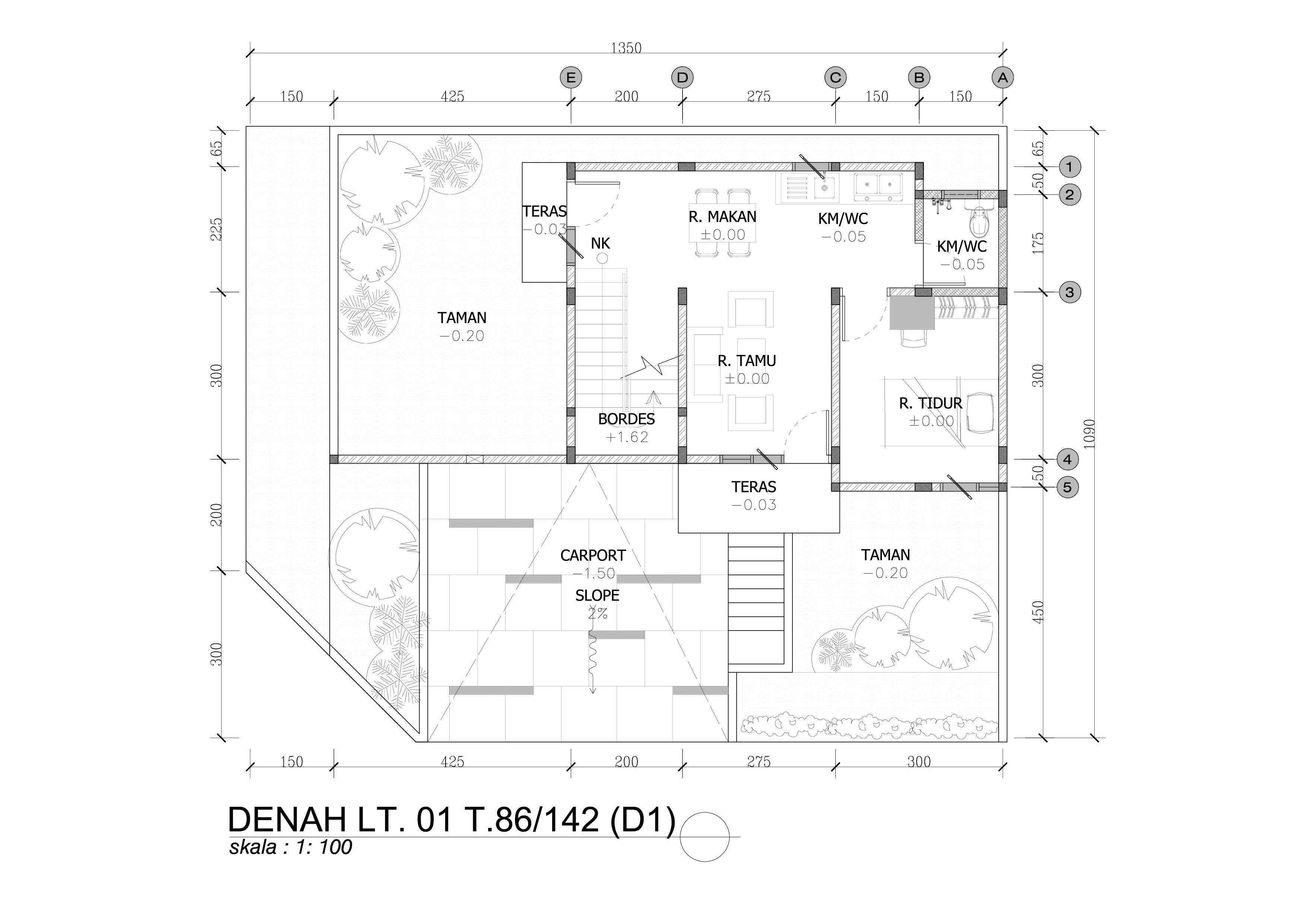 DENAH T.86 LT 01 (D1) HOOK