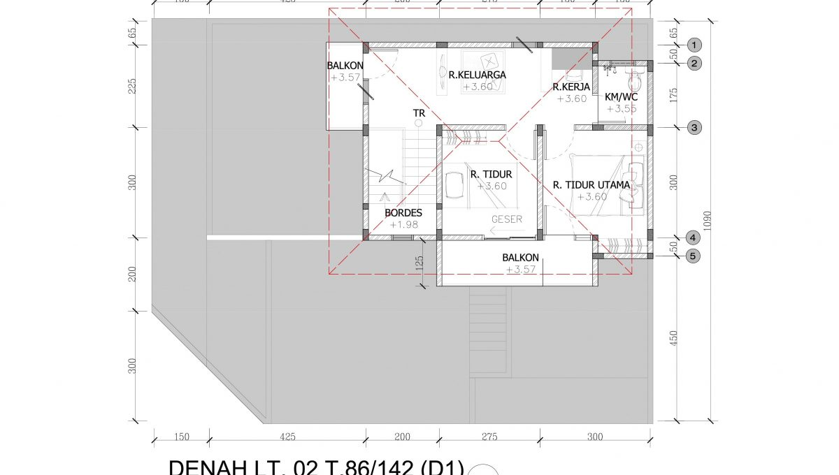 DENAH T.86 LT.02 (D1) HOOK